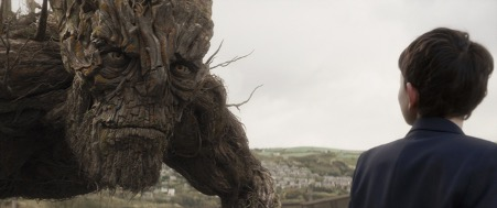 Still from the film: A Monster Calls