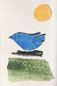 Blue Bird Image by Zara McQueen